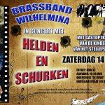Helden en Schurken Concert Brassband Wilhemina