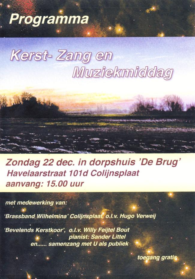 kerst dorpshuis De Brug